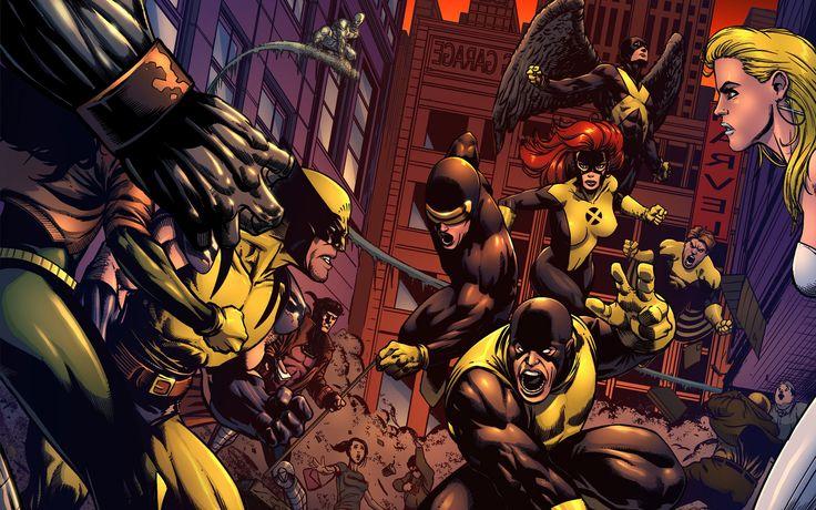 X-Men Wolverine super héroes hombres Cyclops modernos