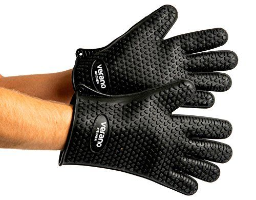 Silicone Heat Resistant Kitchen Gloves