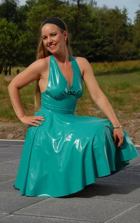 Pvc And Plastic Dresses : Best plastic pvc closet of my dreams images on
