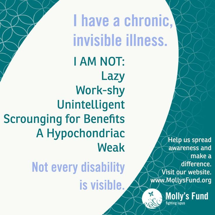 living with lupus / invisible illness / . www.mollysfund.org