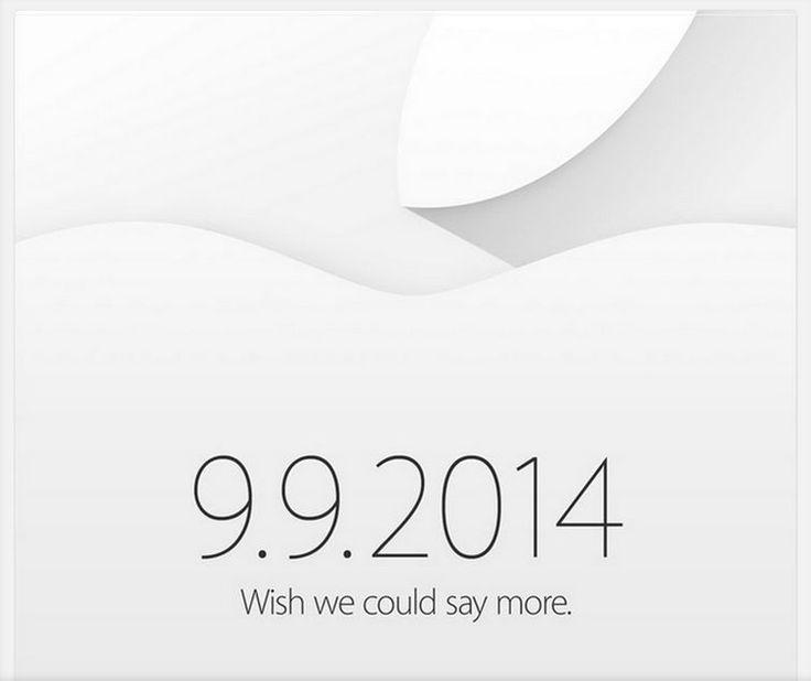 Apple ha enviado las invitaciones para un nuevo evento el día 9 de Septiembre en California.