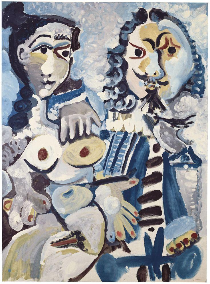 Pablo Picasso's Mousquetaire et nu assis (1967, estimate: £12-18m)