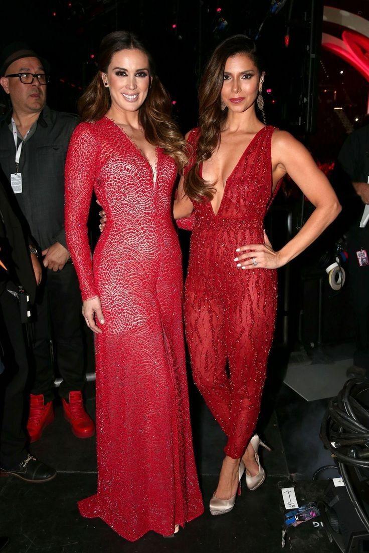 Jacqueline Bracamontes and Roselyn Sanchez..... - Celebrity Fashion Trends
