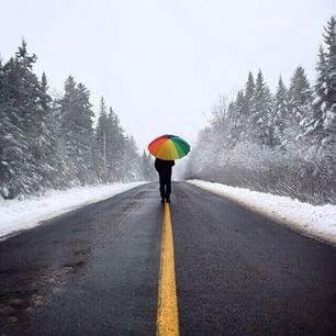 Wherever the path takes you as you #ExploreNB this weekend, happy trails! // Peu importe où la route nous mène cette fin de semaine, on prend des couleurs à l'extérieur! Photo: @leifography / Instagram
