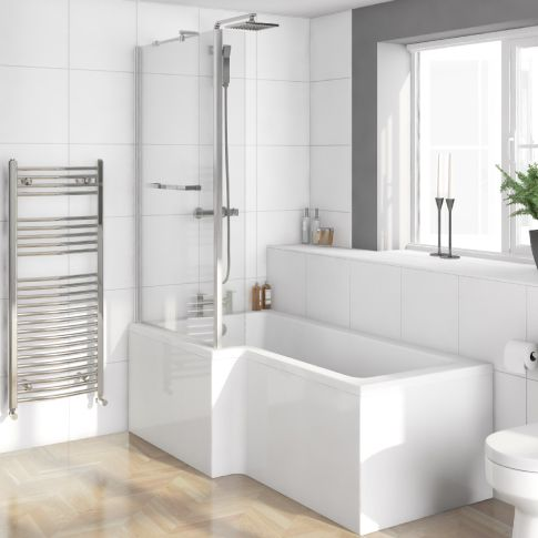 25 best ideas about shower over bath on pinterest very burlington hampton shower bath 1500 rh