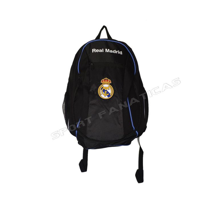 REAL MADRID backpack school BAG mochilla bookbag official and licensed  #Rhinox #RealMadrid