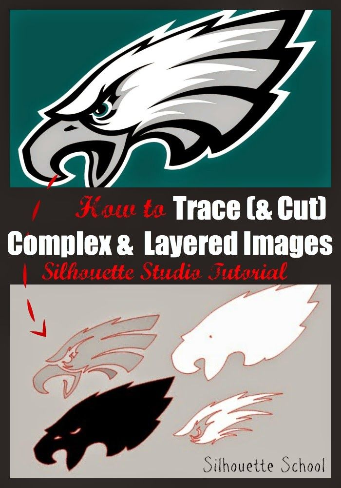 Tracing Complex and Multi-Color Designs (Silhouette Tutorial) #silhouette #silhouetteututorials #silhouettestudio silhouetteprojects