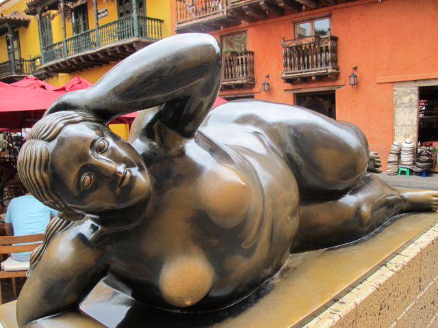 Gertrudis de Botero, Cartagena.