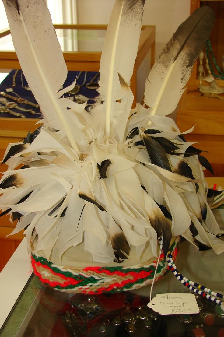 An aboriginal treasure from the Lennox Island gift shop.