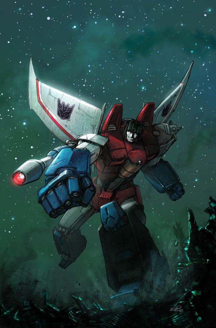 Transformers Starscream by KlausScherwinski.deviantart.com on @DeviantArt