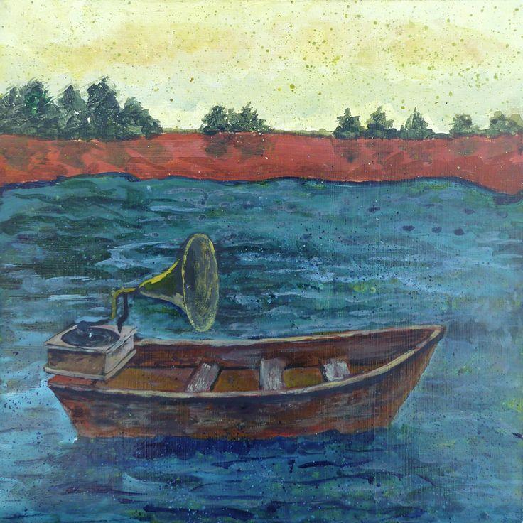 Frances marin my fitzcarraldo boat art art rowboat