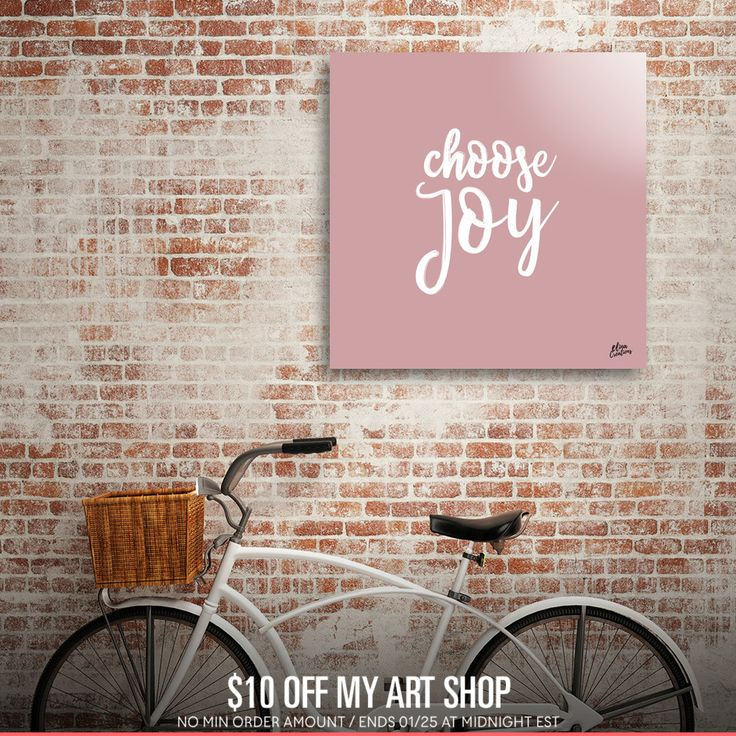 Discover «CHOOSE JOY», Numbered Edition Acrylic Glass Print by Elina Koutsokera - From 70€ - Curioos