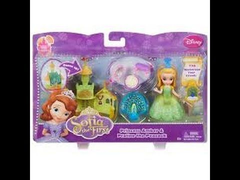 lets play with DISNEY SOFIA the first & princess AMBER!!!!