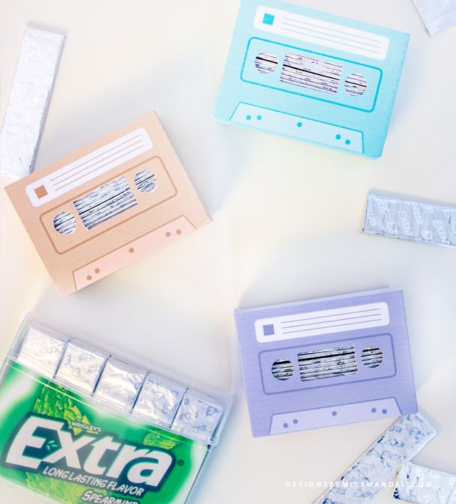 Diys For Teens Part - 43: DIY Retro Gum Holder