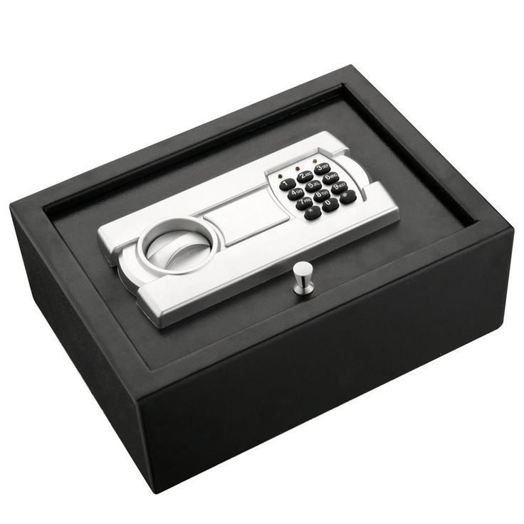 Paragon Lock and Safe Premium Drawer Safe for Easy Compact and Sturdy Security, Gray