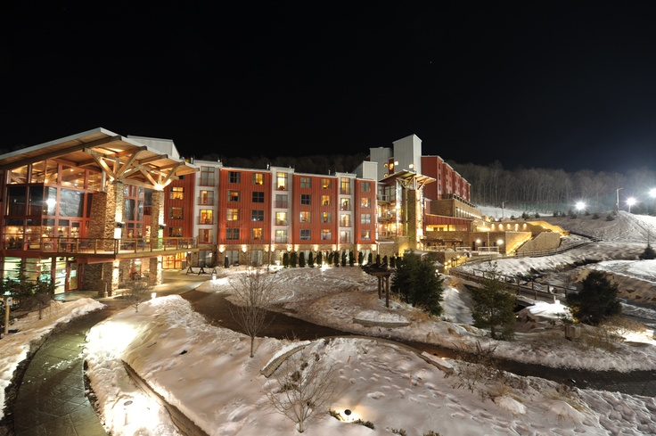 Bear Creek Mountain Resort at night. | Lifestyle ...