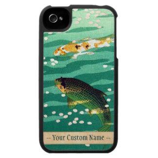 Shiro Kasamatsu Karp Koi Fish Pond Japanese Art Iphone 4 Covers Japan Japanese Vintage Gift