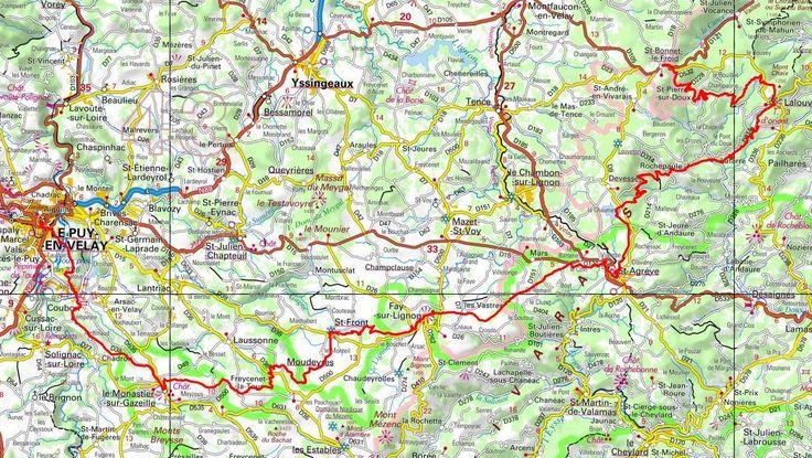 GR430 Randonnée de Puy-en-Velay à St Bonnet-Le-Froid (Haute-Loire)