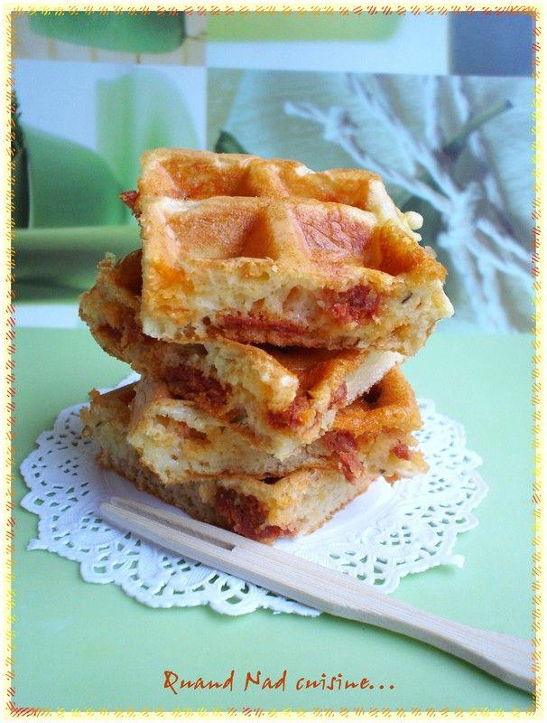 C'est dans la cuisine d'Audinette que j'avais repéré cette recette. Je l'ai d'abord faite une première fois, un soir, avec une petite salade, puis servie à un apéro dînatoire chez ma belle-sœur et toujours avec le même succès. Il fallait donc que je la...