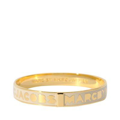 marc by marc jacobs logo bracelet #marcjacobs #bracelet #designer #accessories #jewelry #covetme