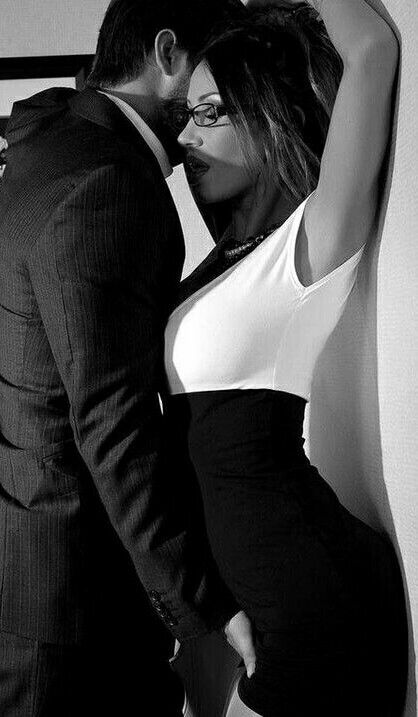 Sexy black and white office sex photos