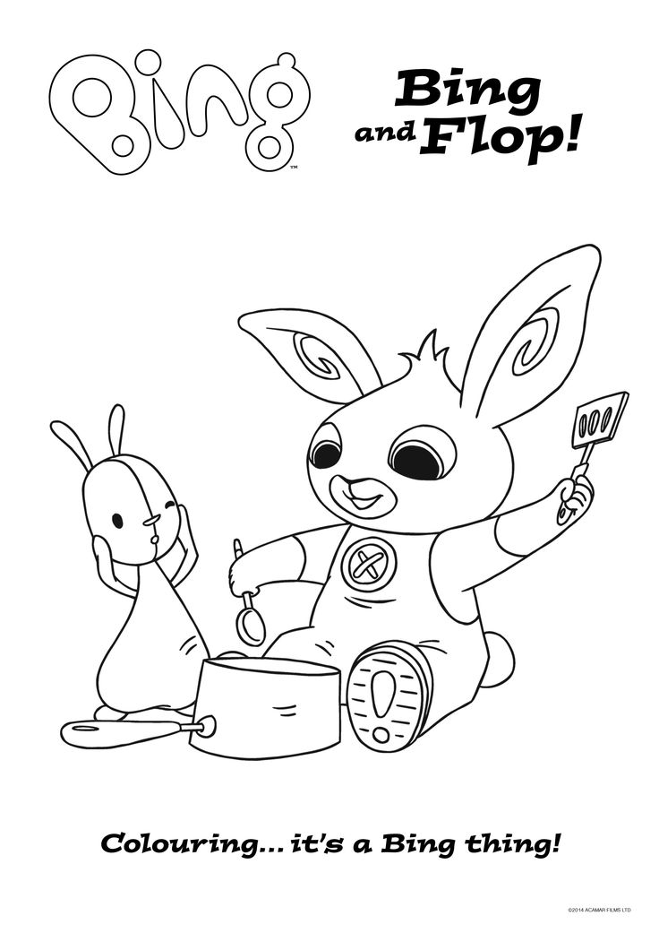 11 best images about Bing Colouring Sheets on Pinterest ...