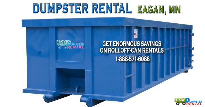 Eagan, MN at EasyDumpsterRental Dumpster Rental in Eagan, MN Get Enormous Savings On RollOff-Can Rentals Click To Call 1-888-792-7833Click For Email Quote How We Offer Exceptional RolloffService In Eagan: Renting a bin unit from us is the easiest task you will do all day. Our ordering process takes mere minutes. And we will... https://easydumpsterrental.com/minnesota/dumpster-rental-eagan-mn/
