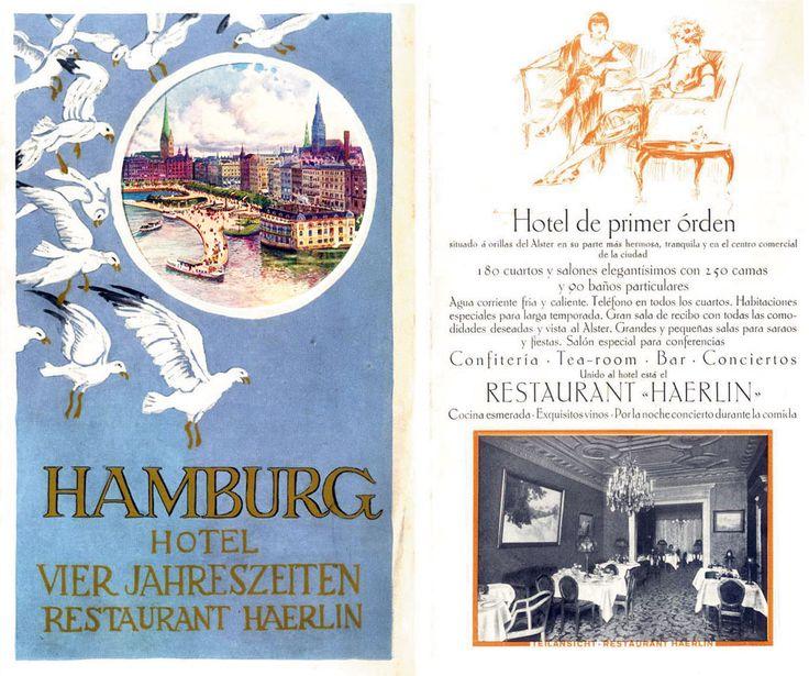 Geschichte Hotel Vier Jahreszeiten Hamburg - Luxus Hotel Hamburg - Fairmont Hotel Vier Jahreszeiten Hamburg