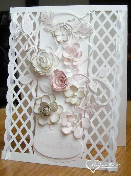 Birthday Trellis by darbaby - Cards and Paper Crafts at Splitcoaststampers