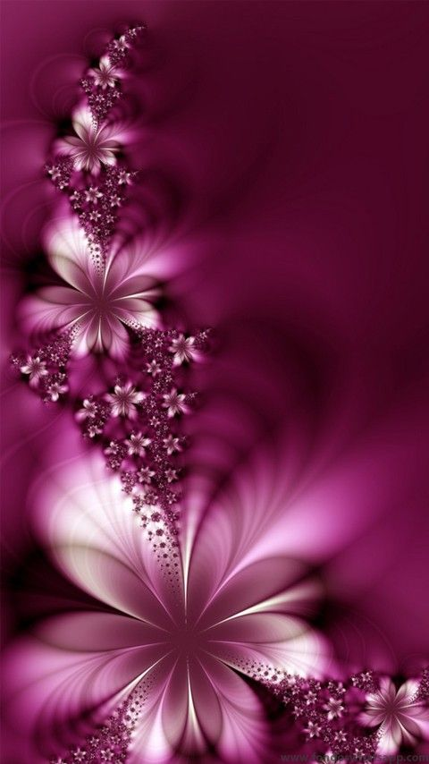 Flores moradas: