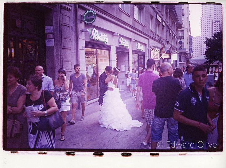 Rodilla sandwich shop Gran Via Plaza de España Madrid © fotografo photographer