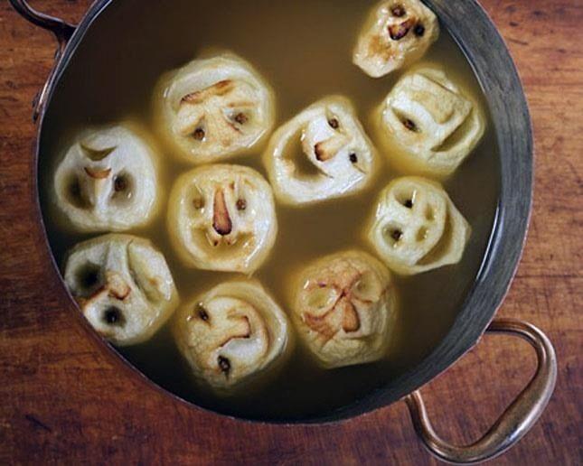 Halloween Food Hacks: How to Make Shrunken Heads Out of Apples & Potatoes « Food Hacks