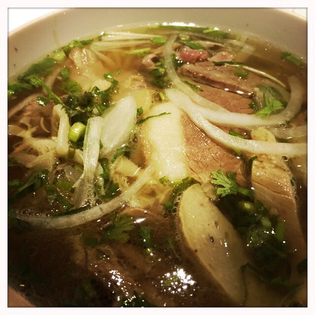 Beef pho at Pho Hung, Nguyen Trai St (and other locations)