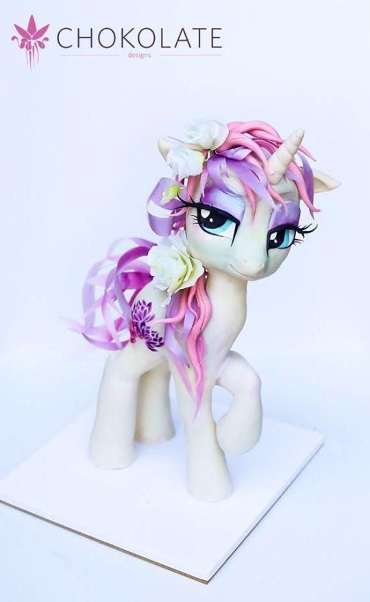 FlowerShine Little Pony 3D Cake
