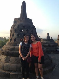 Borobudur, once one of the Seven wonders