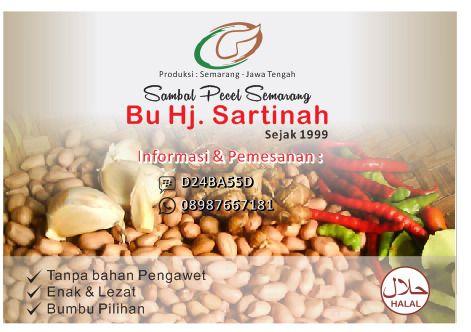 7 Keistimewaan Sambel Pecel Bu Sartinah Semarang