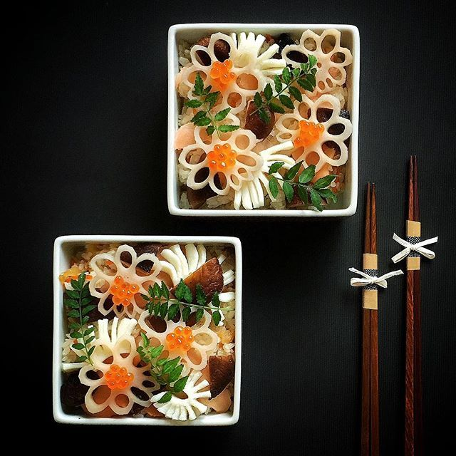Chirashizushi - Scattered sushi | chinamisakamoto