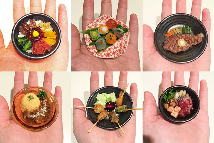 """These are called """"microfood"""" (miniature food). You can eat them! 食べられるミニチュア「マイクロフード」って何? - 日経トレンディネット"""