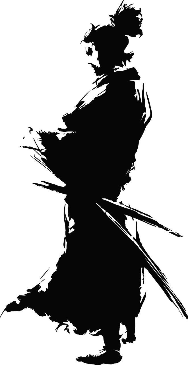 サムライ, 日本, 戦士, 剣, 伝統的な, カタナ