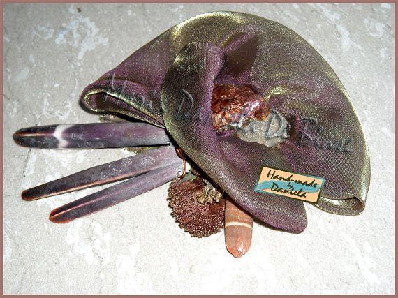 Spilla Anemone di mare  Sea Anemone Brooch di atmosferedipuglia