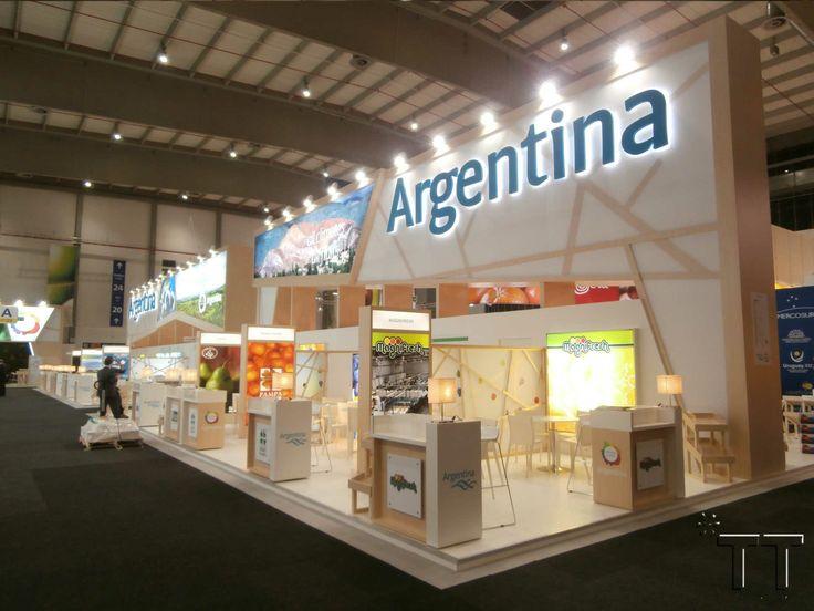*TT by 2013 THINK TANK diseña y construye el Pabellón Argentino en Fruit Logistica 2014.