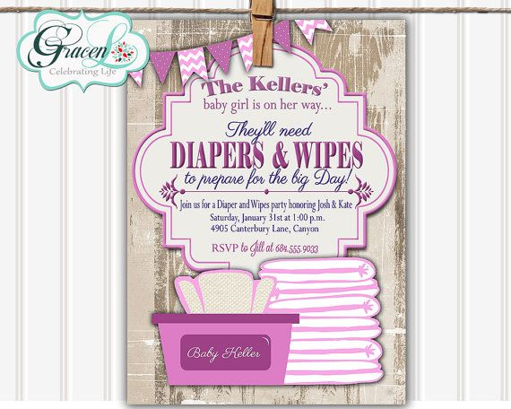 Good Diaper And Wipes Baby Shower