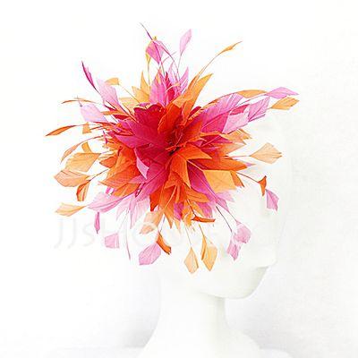 Headpieces - $29.99 - Glamourous Feather Fascinators (042025109) http://jjshouse.com/Glamourous-Feather-Fascinators-042025109-g25109?snsref=pt&utm_content=pt