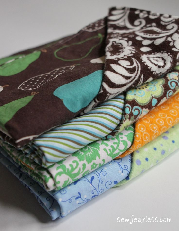 baby blankets - Gonna remember this for when I get in the mood to make more baby blankets... love the easy sewing ones!!!