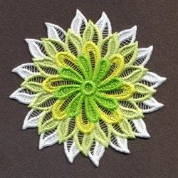 FSL Fancy Doily 2 embroidery design