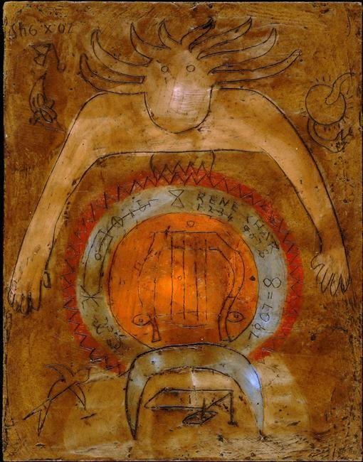 Victor brauner hommage ren char 1945 surrealists surrealism classic pinterest - Victor brauner loup table ...