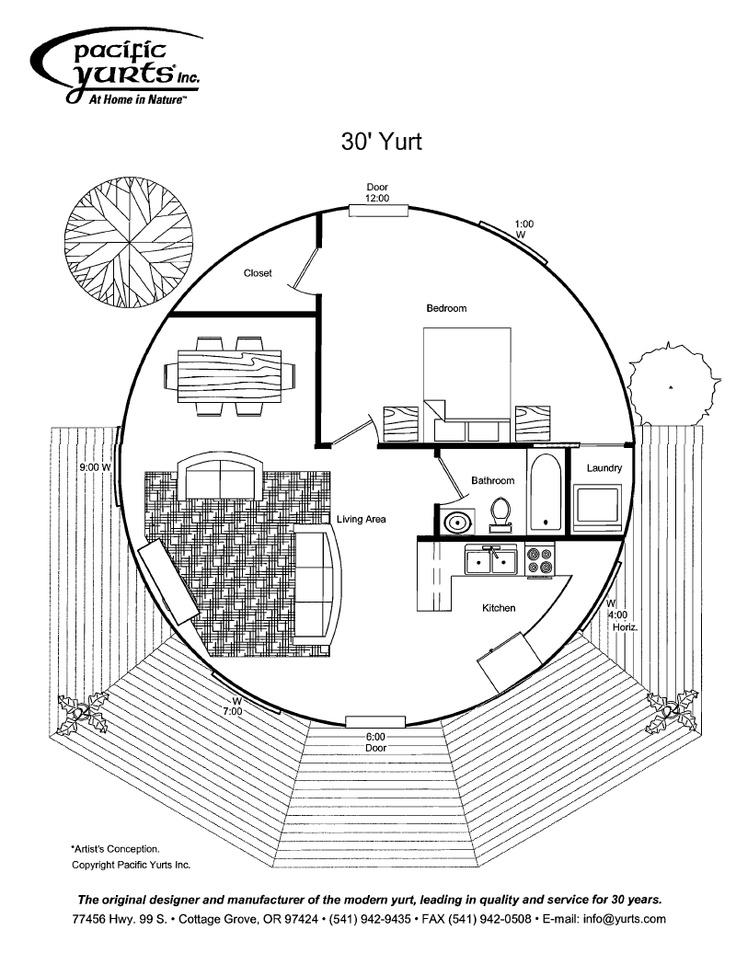 yurt floor plan add loft over bedroom and bathroom