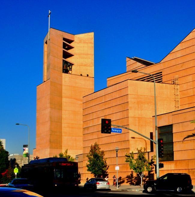 catedral de nuestra seora de los angeles edificio de alabastro obra del arquitecto