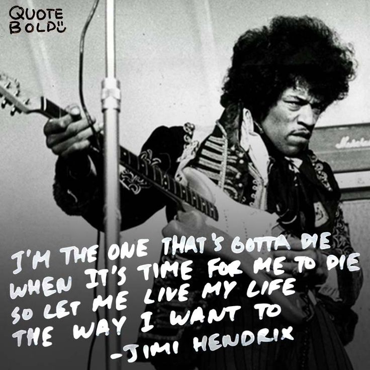 Living My Life Quotes: Best 25+ Jimi Hendrix Quotes Ideas On Pinterest