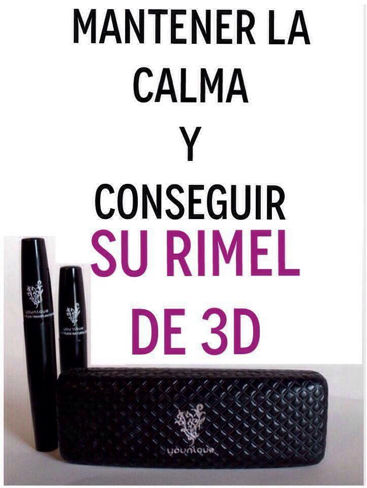 Mascara. Rimel. Love. Younique. Obsessed. Makeup. Spanish. Espanol.